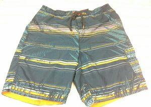 Speedo Swim Trunks/Board Shorts Sz XL Blue Orange